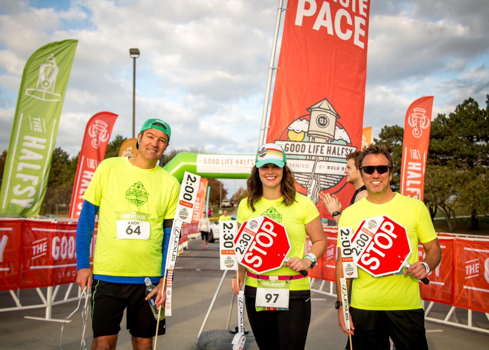 Andi Hallgren – Pacing to the finish line