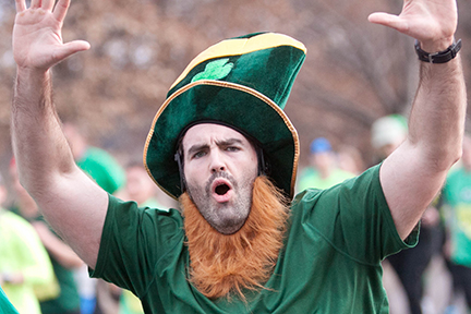 Leprechaun Chase 10K Omaha | Great Spectator Course