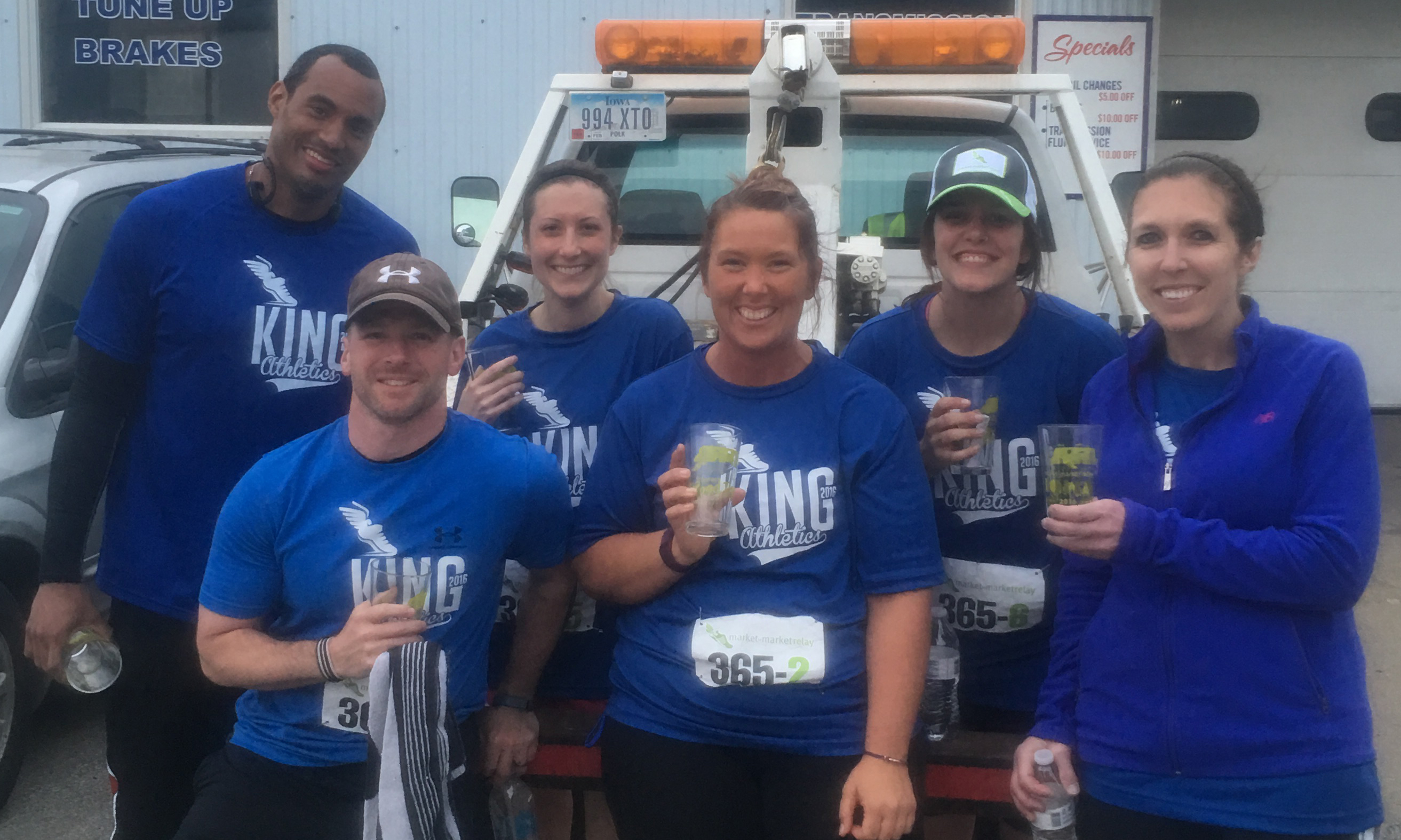 2017 M2M Relay Iowa Spotlight Team: 'No Lug Nuts, No Problem'