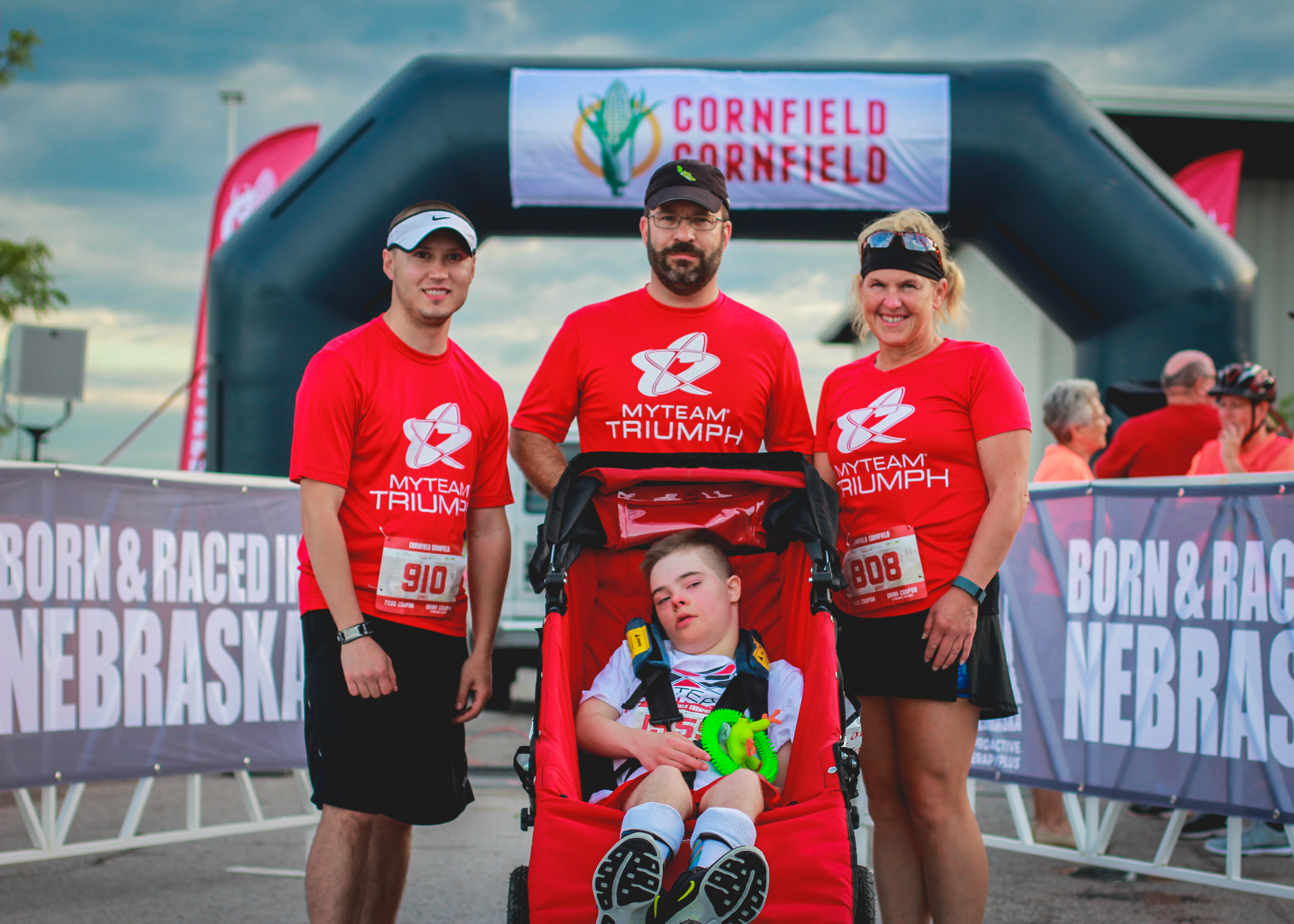 2017 Cornfield Cornfield 10K Spotlight Team: myTEAM TRIUMPH