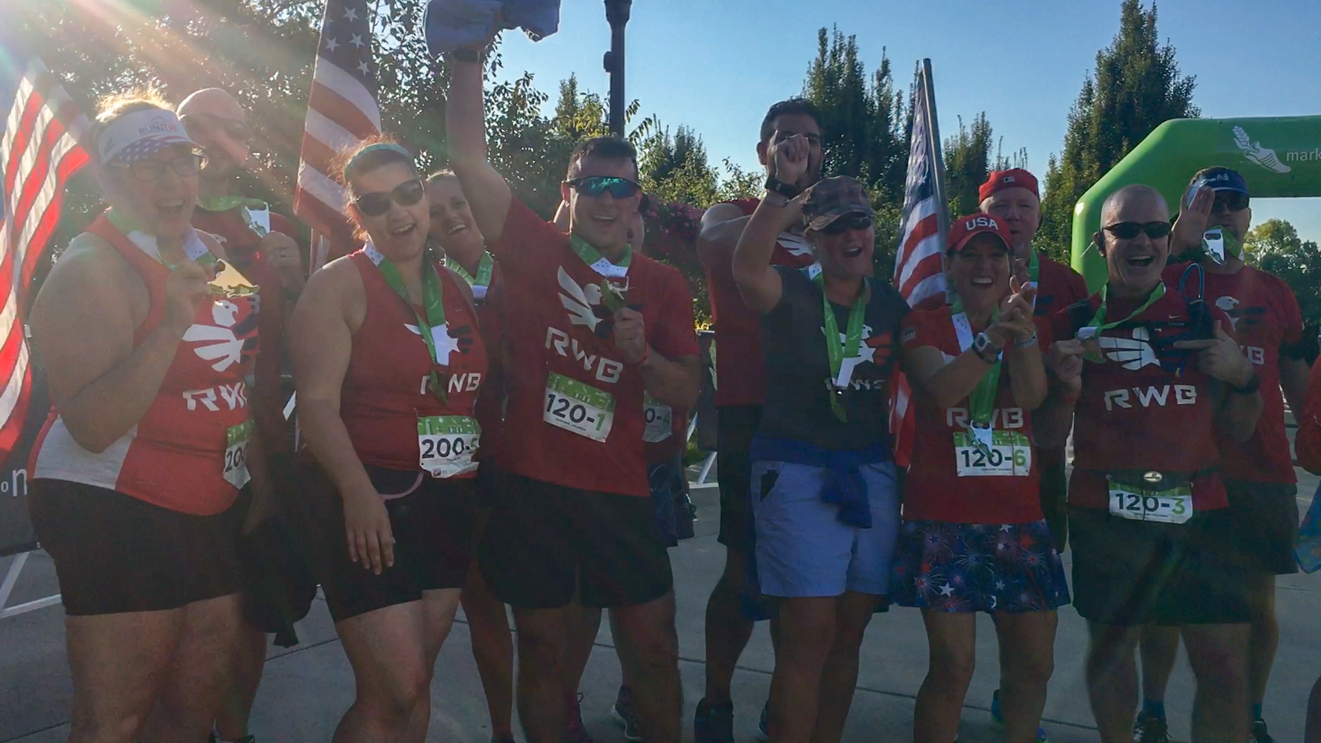 2017 Market to Market Relay Ohio | Spotlight Team: Team RWB Cinci