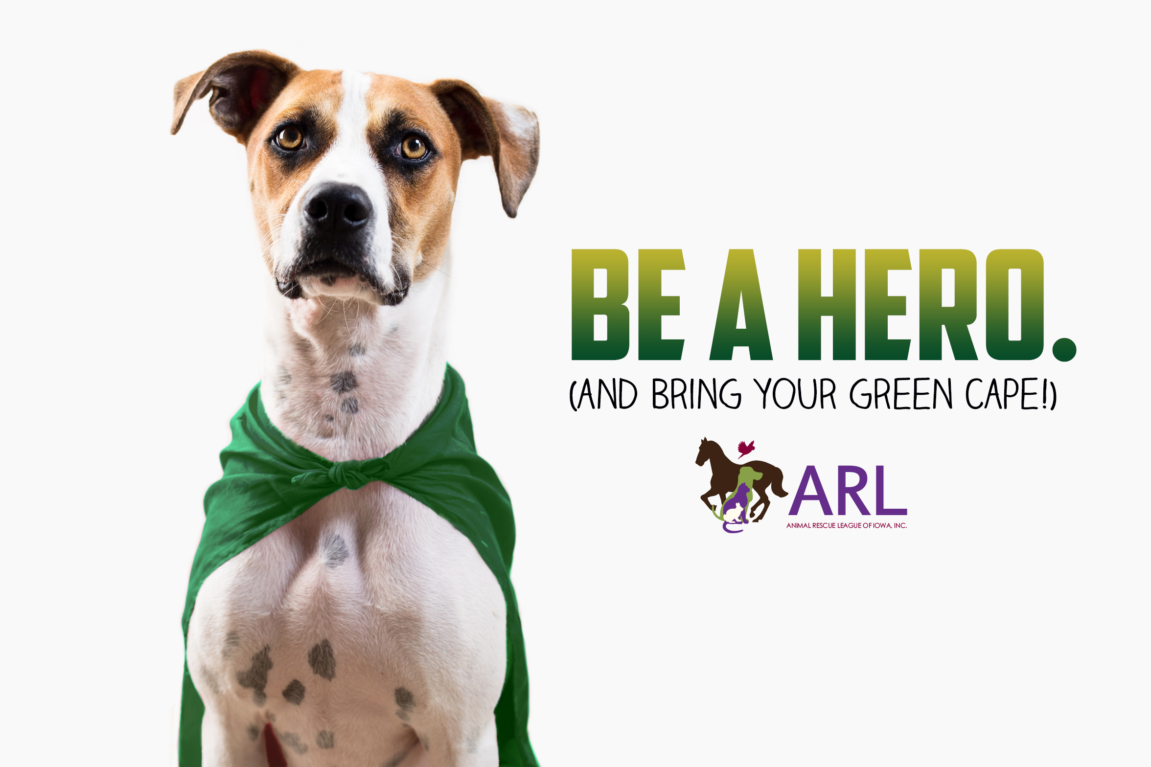 ARL: Be a Hero. (Bring your Green Cape!)