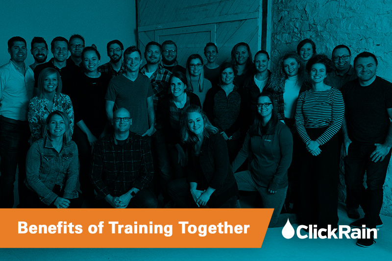 Click Rain: Benefits of Training Together for a Race